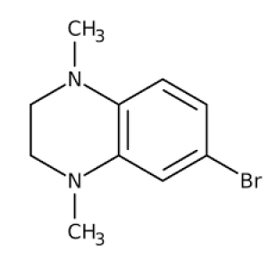 6-Bromo-1,4-dimethyl-1,2,3,4-tetrahydroquinoxaline, ≥97% 250mg Maybridge