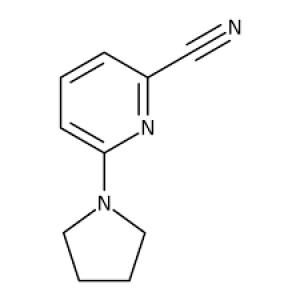 6-Pyrrolidin-1-ylpyridine-2-carbonitrile, 97% 1g Maybridge