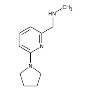 N-Methyl-N-[(6-pyrrolidin-1-ylpyridin-2-yl)methyl]amine, 97% 250mg Maybridge