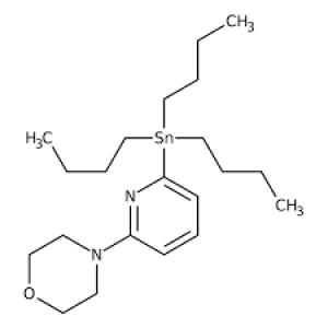 4-[6-(Tributylstannyl)-2-pyridinyl]morpholine, 95% 250mg Maybridge