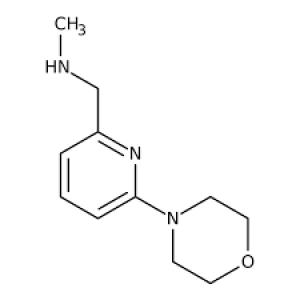 N-Methyl-N-[(6-morpholin-4-ylpyridin-2-yl)methyl]amine 90+% 250mg Maybridge