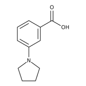 3-Pyrrolidin-1-ylbenzoic acid, 97% 250mg Maybridge