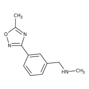 N-Methyl-N-[3-(5-methyl-1,2,4-oxadiazol-3-yl)benzyl]amine, 97% 250mg Maybridge
