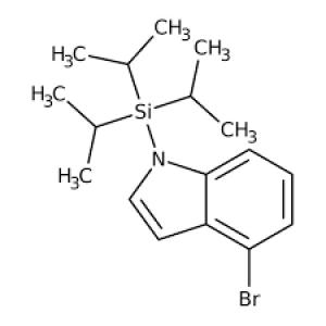 4-Bromo-1-(triisopropylsilyl)-1H-indole, ≥97% 250mg Maybridge