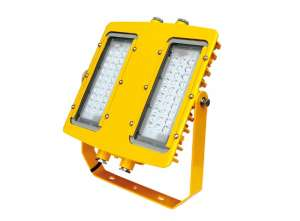 EXPLOSION-PROTECTED LED LIGHT FITTING