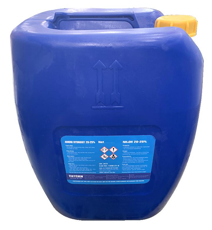 Dung Dịch Amoni Hydroxit NH4OH 20 - 25% Việt Nam