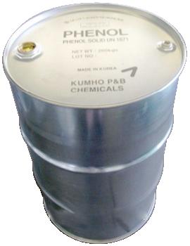 Phenol C6H5OH 99,8%, Hàn Quốc, 200kg/phuy