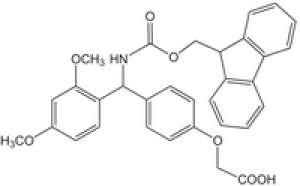 FMOC-RINK LINKER p-[(R,S)-α-[1-(9H-Fluoren-9-yl)-methoxyformamido]- 2 ,4-dimethoxybenzyl]- phenoxyacetic acid Novabiochem® 25g Merck