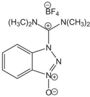 TBTU 2-(1H-Benzotriazole-1-yl)-1,1,3,3-tetramethylaminium tetrafluoroborate Novabiochem® 25g Merck