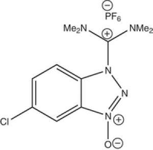HCTU O-(1H-6-Chlorobenzotriazole-1-yl)-1,1,3,3-tetramethyluronium hexafluorophosphate Novabiochem® 100g Merck