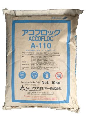 Polyme accofloc A110, Nhật, 10kg/bao