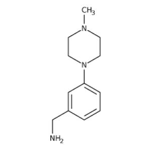 1-[3-(4-Methylpiperazin-1-yl)phenyl]methanamine, 97% 1g Maybridge