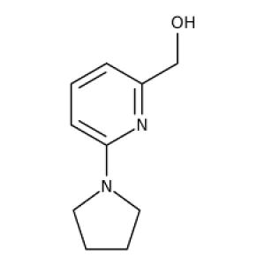 (6-Pyrrolidin-1-ylpyrid-2-yl)methanol, 97% 250mg Maybridge
