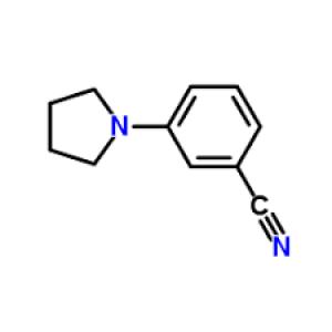 3-Pyrrolidin-1-ylbenzonitrile, 95% 10g Maybridge
