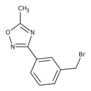 3-[3-(Bromomethyl)phenyl]-5-methyl-1,2,4-oxadiazole 97+% 250mg Maybridge