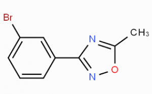 3-(3-Bromophenyl)-5-methyl-1,2,4-oxadiazole, ≥97% 250mg Maybridge