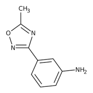 3-(5-Methyl-1,2,4-oxadiazol-3-yl)aniline, 97% 250mg Maybridge