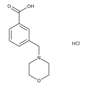 3-(Morpholin-4-ylmethyl)benzoic acid hydrochloride hydrate, 97% 250mg Maybridge