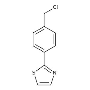 2-[4-(Chloromethyl)phenyl]-1,3-thiazole, 97% 250mg Maybridge