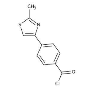 4-(2-Methyl-1,3-thiazol-4-yl)benzoyl chloride, Tech 250mg Maybridge