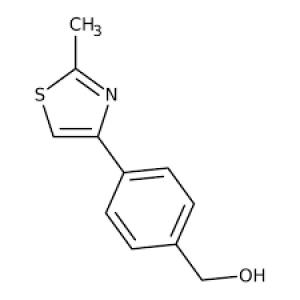 [4-(2-Methyl-1,3-thiazol-4-yl)phenyl]methanol, 97% 250mg Maybridge