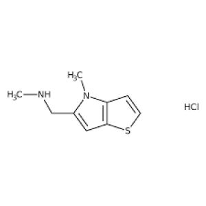 N-Methyl-N-[(4-methyl-4H-thieno[3,2-b]pyrrol-5-yl)methyl]amine hydrochloride, 95% 1g Maybidge