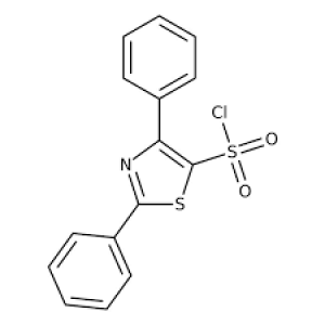 2,4-Diphenyl-1,3-thiazole-5-sulfonyl chloride, ≥97% 250mg Maybridge