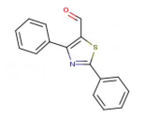 2,4-Diphenyl-1,3-thiazole-5-carbaldehyde, ≥95% 1g Maybidge