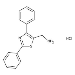 (2,4-Diphenyl-1,3-thiazol-5-yl)methylamine hydrochloride, ≥95% 1g Maybidge