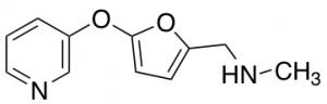 N-Methyl-N-{[5-(pyridin-3-yloxy)-2-furyl] methyl}amine, 97% 250mg Maybridge