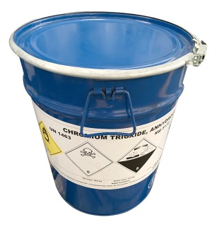 Chromium trioxide (CrO3) 99%, Nga, 50kg/thùng