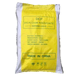 Dicalcium phosphate (DCP) CaHPO4, Trung Quốc, 25kg/bao