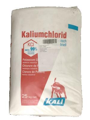 Potassium chloride KCl 99%, Đức, 25kg/bao