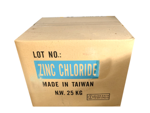 Zinc chloride ZnCl2 98%, Đài Loan, 25kg/hộp