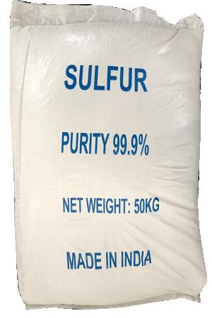 Sulfur S 99%, Ấn Độ, 50kg/bao
