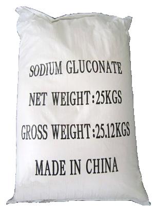 Sodium gluconate 98% min, Trung Quốc, 25kg/bao