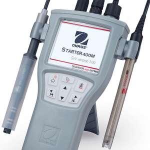 Máy đo đa chỉ tiêu pH/mV/Con/EC/TDS/ Độ mặn/Nhiệt độ cầm tay ST 400M Ohaus