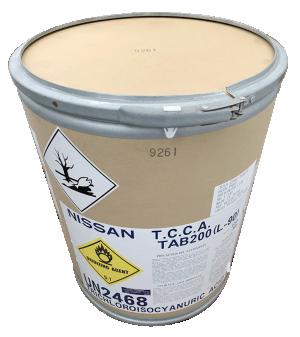 Trichloroisocyanuric acid 90% - TCCA, Nhật Bản, 50kg/thùng