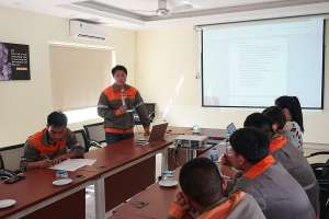 Tân Thành – VIETCHEM đào tạo an toàn xe vận chuyển và PCCC trong SEVT