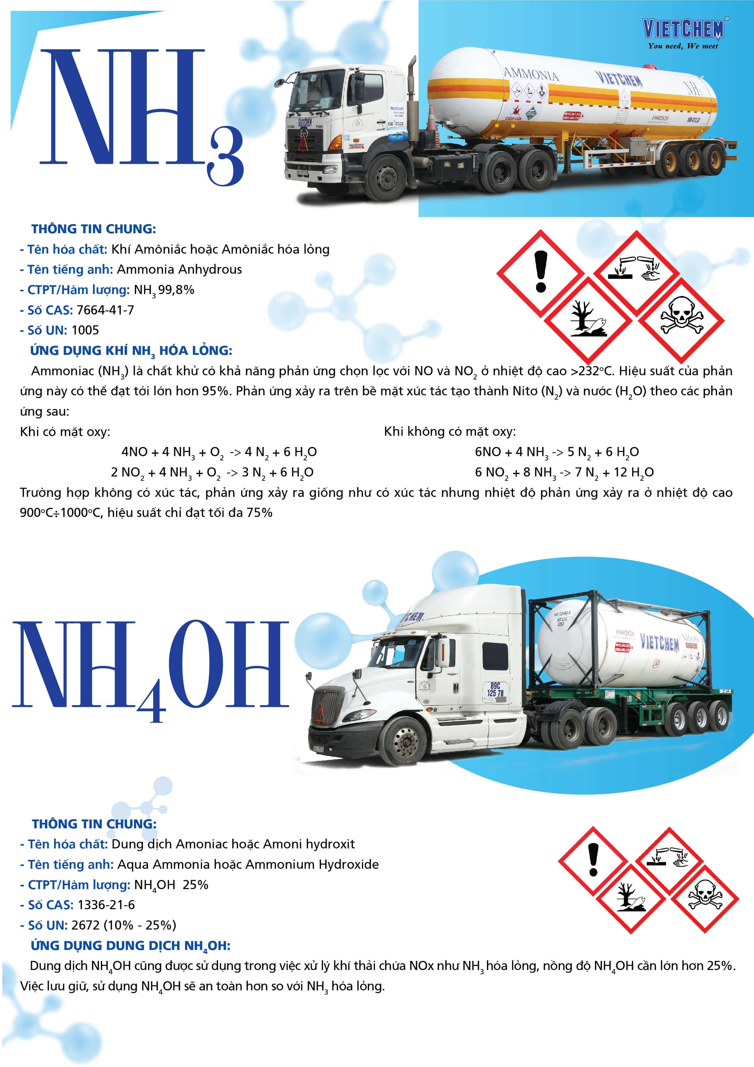 Mua khí amoniac (NH3) ở đâu giá tốt, chất lượng, uy tín 2