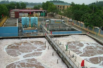 Dùng sắt III clorua trong xử lý nước thải