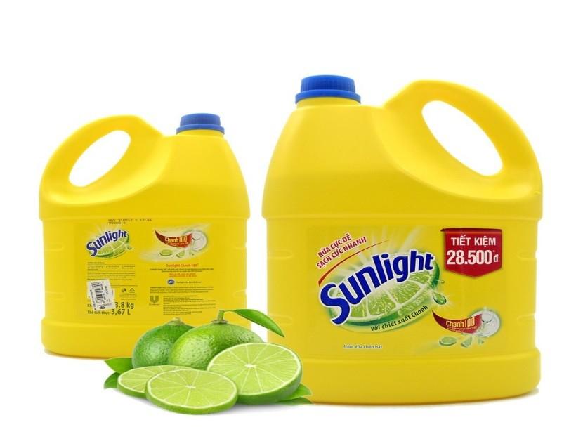 NaOH là thành phần quan trọng của nước rửa chén