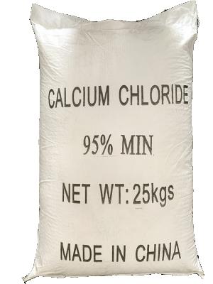Calcium chloride CaCl2 94%, 95%, 96%, Trung Quốc, 25kg/bao