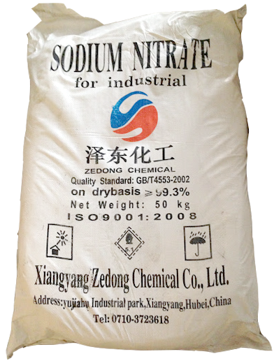 Sodium nitrate 99% NaNO3, Trung Quốc, 25kg/bao