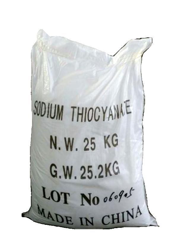 Sodium thiocyanate NaSCN 99%, Trung Quốc, 25kg/bao