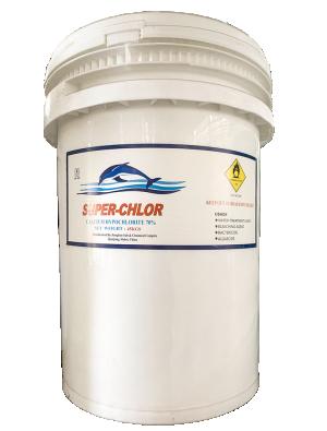 Chlorine cá heo Super Chlor Ca(OCl)2, Trung Quốc, 45kg/thùng