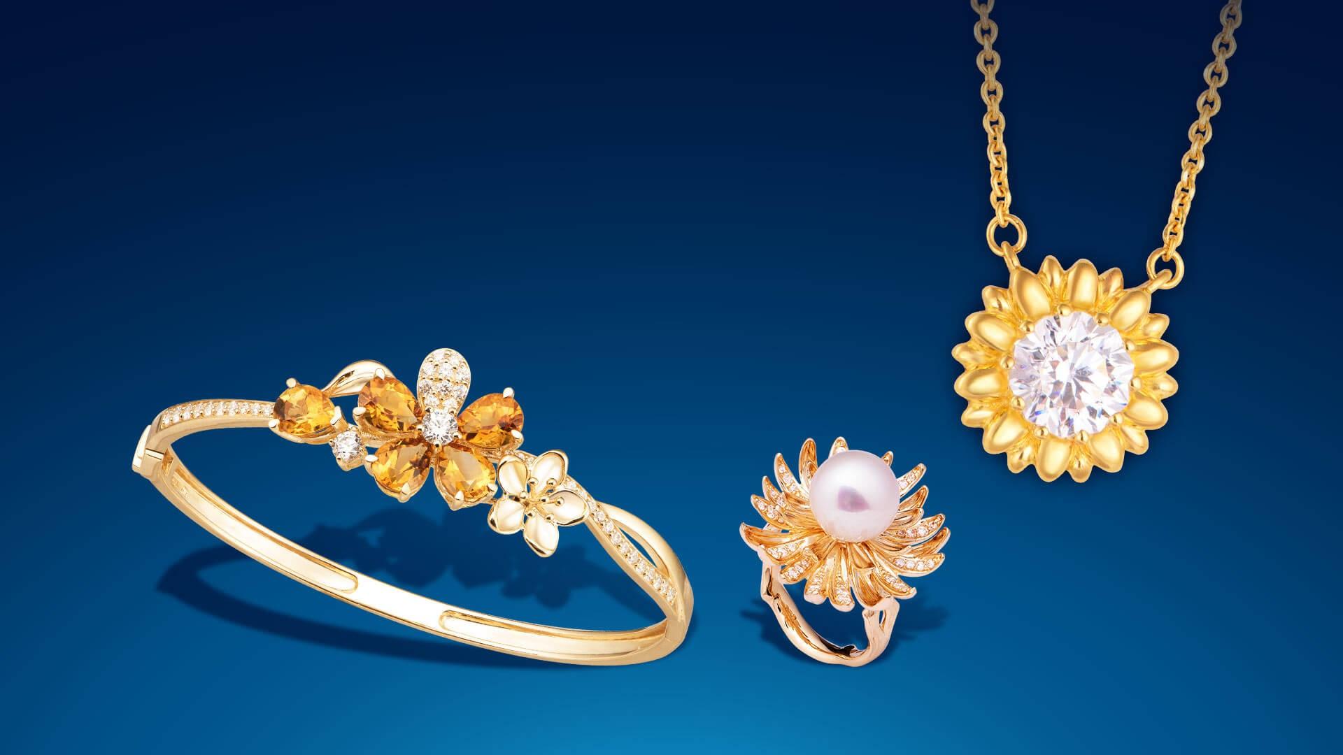 Vàng được dùng để làm trang sức