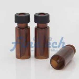 Chai vial thủy tinh ngắn, màu hổ phách 0.3ml, không dán nhãn VL9C Finetech