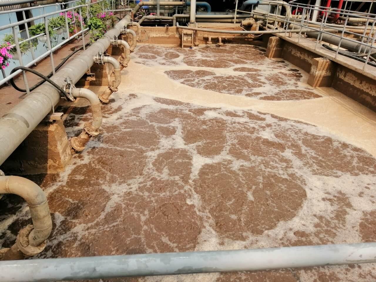 FeCl2 ở dạng dung dịch 30% giúp xử lý nước thải