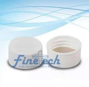 Nắp vặn ren vít kín, nhựa trắng với Septa nhựa PE 22mm SC22WPEET Finetech